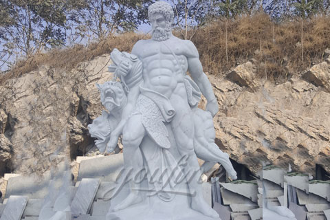 Famous Roman Hercules Marble Man Statues for Sale