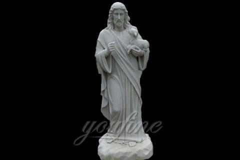 Life Size Catholic Religious Marble Jesus Statues