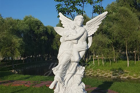 Best Angel Marble Statue of Apollo and Daphne for sale